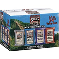 (海外直送)ケトルポテトチップス 24袋入り 4種の味 Boulder Canyon™ Kettle Cooked Potato Chips® Variety Pack 24p