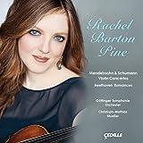 レイチェル・バートン・パイン:メンデルスゾーン、シューマン、ベートーヴェンを弾く(Rachel Barton Pine - Mendelssohn & Schumann Violin Concertos & Beethoven Romances)