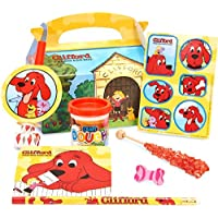 Clifford The Big Red Dog Party Favor Box クリフォードビッグレッドドッグパーティーの好意箱?ハロウィン?クリスマス?