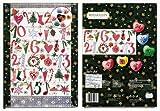 クリスマス チョコレートのアドベントカレンダー ハート green