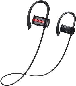 Bluetooth イヤホンZENBRE E3 Bluetooth4.1/スポーツ/ワイヤレス【7h連続再生/IPX4防水/マイク内蔵/ハンズフリー通話 /低音強化ステレオベース】軽量/ iPhone Android 対応(black)