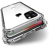 BENEFIQ iPhone 11 Pro Max ケース クリア 耐衝撃 米軍MIL規格取得 透明 アイフォン11プロマックス ソフト カバー ワイヤレス充電 iPhone11ProMax
