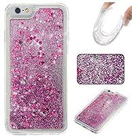 NEXCURIO 【流れる砂】 iPhone6S ケース / iPhone6 ケース ソフトシリコン 耐衝撃 擦り傷防止 アイフォン iPhone 6S / iPhone 6用ケース カバー おしゃれ - YBO303753 紫