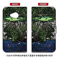 [Android One X2・HTC U11 life/Y!mobile・MVNOスマホ(SIMフリー端末)専用] スマートフォンケース monikotoデザインシリーズ 手帳型スマートフォンケース 「記憶」 YHTAX2-IJTC-401-SBA3
