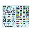 1/200 艦船用デカール/WW2 信号旗 (2枚セット)