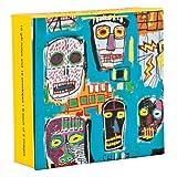 Jean-michel Basquiat Mini Fliptop Notecards With Magnetic Closure
