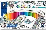 ステッドラー エルゴソフト色鉛筆 36色 メタルケース入り 157M36JB 数量限定品