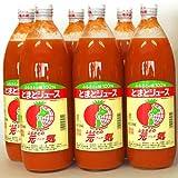 トマトジュース 北海道 下川町 とまとジュース ふるさとの元気 1000ml×12本(1000ml×6本×2箱) 送料無料
