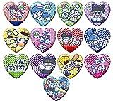 おそ松さん×Sanrio characters トレーディング缶バッジvol.3BOX商品 1BOX = 13個入り、全13種類