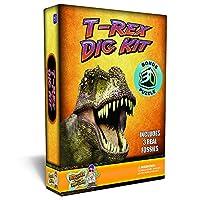 [ディスカバーウィズドクタークール]Discover with Dr. Cool TRex Dinosaur Dig Kit Excavate 3 Real Dino Fossils! PZREX [並行輸入品]