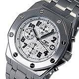 日用品 メンズ クオーツ メンズ クロノ 腕時計 T4393SW ホワイト