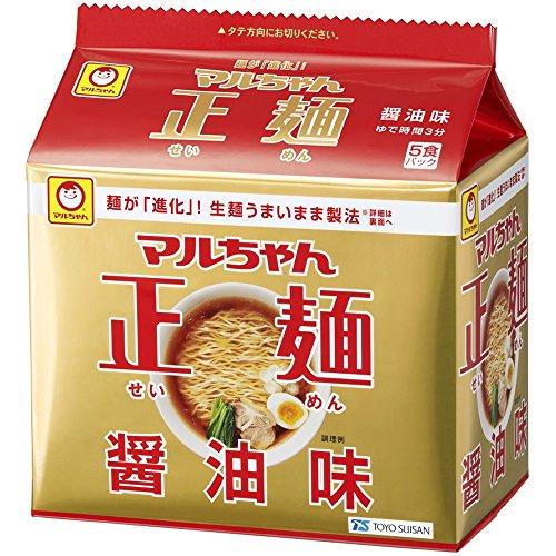マルちゃん 正麺醤油味 525g