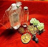 ハーバリウム 製作キット イエロー  ハーバリウムオイル(丸瓶)