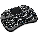 Ewin® ミニ キーボード Bluetooth 3.0 タッチパッド搭載 マウスセット ポータブル 超小型 ワイヤレス キーボード 日本語配列 92キー 多機能ボタン USBレシーバー付き Mini Bluetooth Keyboard【日本語説明