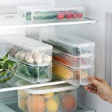 Plastic Storage Collecting Box Basket, Kitchen Refrigerator Fruit Food Organiser, Creative Eggs Vegetable Refrigerator Storag