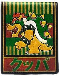 Nintendo 財布 Bowser Kanji Super Mario gamer 公式 新しい Bifold