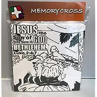 Jesus Loves MeクリスマスOrigamiカラーリングカード – 12 / Pk