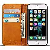iPhone8 ケース 手帳型 高級PUレザー iPhone8カバー 耐衝撃 カード収納 スタンド機能付き 耐摩擦 人気 おしゃれ アイフォン7カバー 財布型ケース