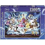 Ravensburger Disney Magical Storybook 1500pc,Adult Puzzles