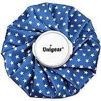 Unigear アイシングバッグ 結露なし アイスバッグ ケガ アイシング 運動後 クールダウン 家庭常備品 S/M(星 S)