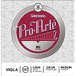 D'Addario ダダリオ ヴィオラ弦 J58 LM ProArte Viola Strings / Set (4-strings) LongScale 【国内正規品】