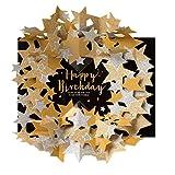 学研ステイフル メッセージカード 誕生日カード スターポップアップ ゴールド B46005