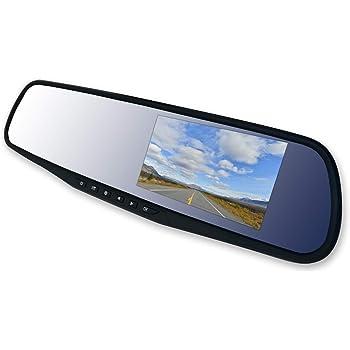 PROSAFET(プロセーフト) ドライブレコーダー ミラー 前後 車載 防犯 カメラ 常時 衝撃 上書き 録画 動体検知 Gセンサー 駐車監視 高速起動 1080P フルHD 超高画質 170度 広角レンズ 取り付け簡単 日本語説明書付き