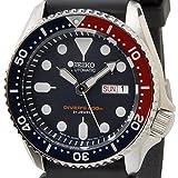 [セイコー]SEIKO SKX009J オートマチック ダイバー ネイビー 日本製 自動巻き メンズ腕時計 [逆輸入品]