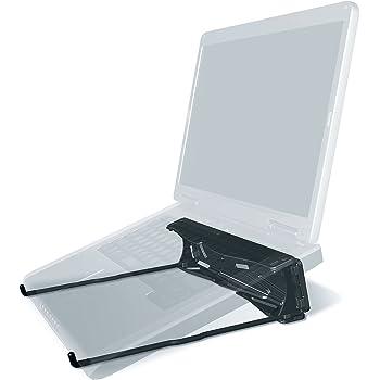 GPG2 ノートパソコン用 折りたたみ 軽量 スタンド ノートPC 持ち運び デスク MacBook対応 熱対策 (ブラック)