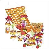 秋の装飾 秋の味覚&収穫祭ハンガー L180cm 6666