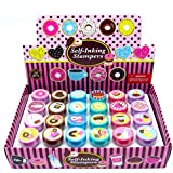 24 Pcs Donuts Stampers for Kids