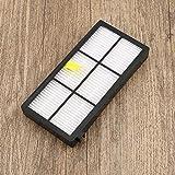 白&黄色&黒のアイロボットルンバ880 890 980真空クリーンアクセサリー、ブラシ&ヘパフィルター