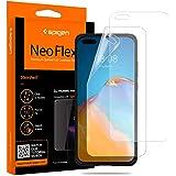 Spigen 【2枚入】 Huawei P40 Pro / P40 Pro Plus フィルム 全面保護 気泡ゼロ 液晶保護フィルム ケースと干渉せず TPUフィルム 貼り直しが可能 手触り抜群 フルカバー 【NeoFlex】