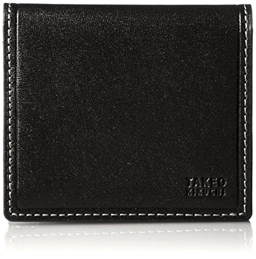 コイル記述する品種[タケオキクチ] 財布 二つ折り コンパクト タイム 726603