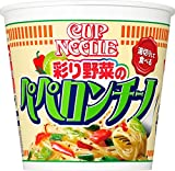 日清食品 カップヌードル パスタスタイル 彩り野菜のペペロンチーノ 90g