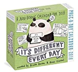 It's Different Every Day 2018 Calendar