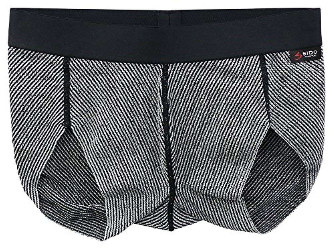 起きろ天気黙SIDO(シドー) 包帯パンツ マラソンパンツ マタズレーヌ ブラック S(68~76cm) 1066
