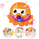 Bubble-Machine Baby Bath Toys for Toddlers Kids Automatic Bubble Maker Bathtub Toys for 3 4 5 6 Years Old Boys Girls