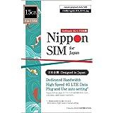 【使用期限:2021/9/30】Nippon SIM for Japan 日本国内用 15GB (容量に達るとサービス終了) 3-in-1 (標準/マイクロ/ナノ)データ通信専用 (音声&SMS非対応) 4G/LTE SIMカード / 海外大手キャリ