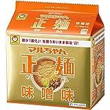 マルちゃん 正麺味噌味 5食パック