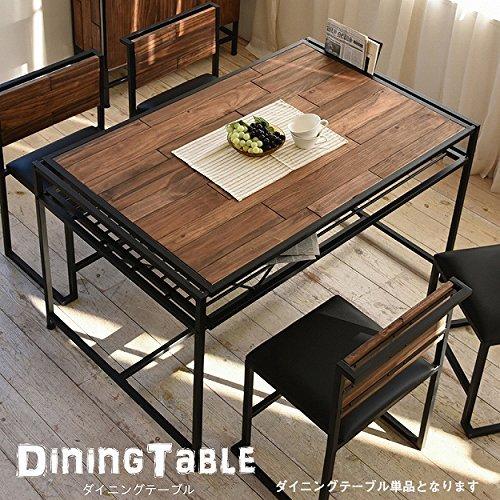 ダイニングテーブル 天然木 北欧 木製 テーブル 作業台 ダ...