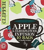 クリッパー オーガニックフルーツインフュージョン アップル&エルダーフラワー(個装10P)