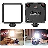【2020新版】VL-81 LEDビデオライト 小型 充電式 3000mAh Type-C 3200k-5600k CRI95+ 色温度調整可能 スマート カメラライト 補助照明 撮影用ライト iPhone DJI Osmo Pocket Actio