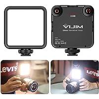 【2020新版】VL-81 LEDビデオライト 小型 充電式 3000mAh Type-C 3200k-5600k CR…