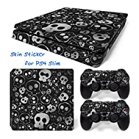 Hzjundasi 151# Body Sticker Decal Skin ステッカーデカールスキン For Playstation 4 PS4 Slim Console+Controllers
