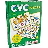 Junior Learning JL240 CVC Puzzles, Multicolor