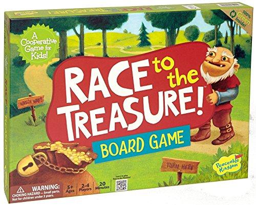 [ピーサブルキングダム]Peaceable Kingdom Race to the Treasure! Award Winning Cooperative Game for Kids GMC2 [並行輸入品]