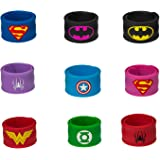 Superhero Slap Bracelet, Chelvee Slap Bracelet for Kids Boys & Girls Birthday Party Supplies Favors Wristband Accessories Wri