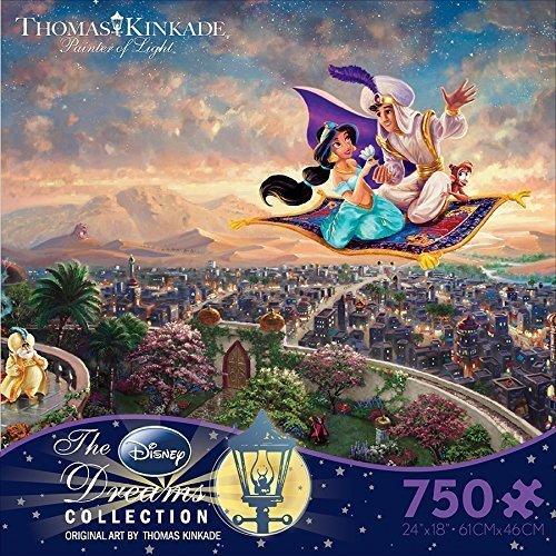 Disney Thomas Kinkade アラジン ジグソーパズル 750ピース [並行輸入品]