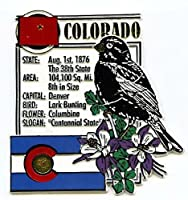 Coloradoコロラド州モンタージュ冷蔵庫マグネット